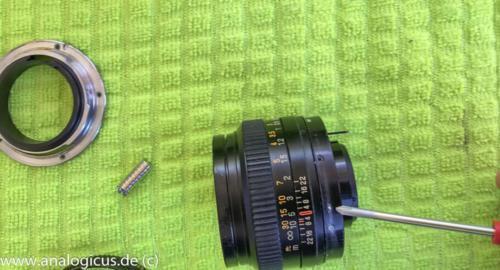 reparatur revuenon50 1.4-4624