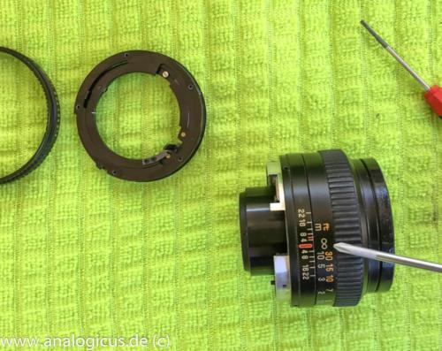 reparatur revuenon50 1.4-4631